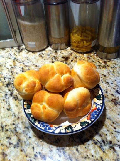 I made bread