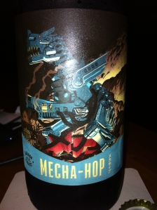 Mecha-Hop Label