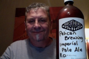 Imperial Pelican Ale - which is an Indian Pale Ale, why quibble..