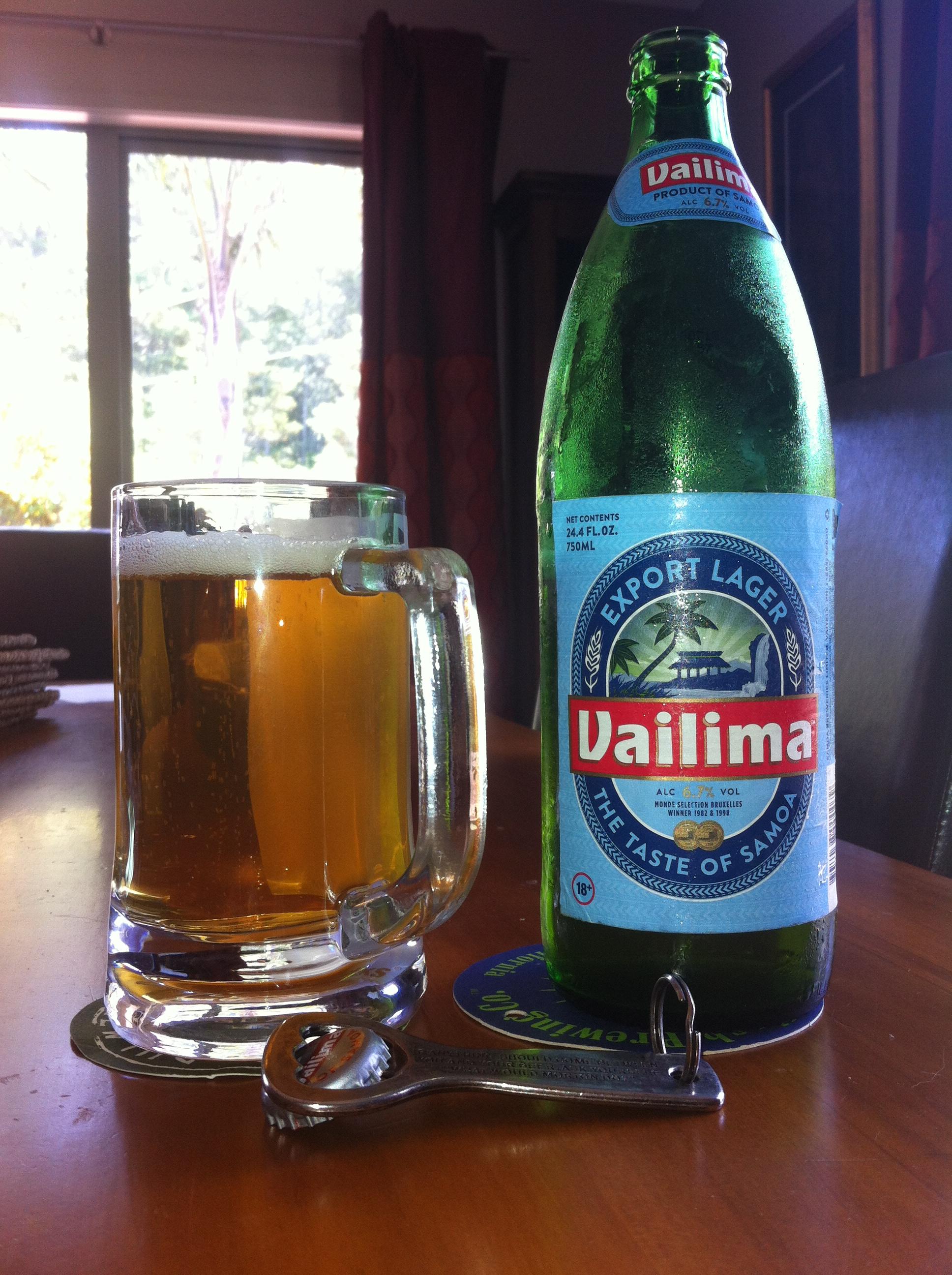 beer  u2013  533  u2013 vailima  u2013 special export lager