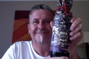 A bottle of your most intricately wrapped beer please