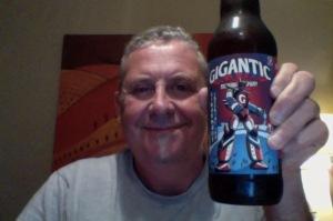 Big Fellah has a big beer