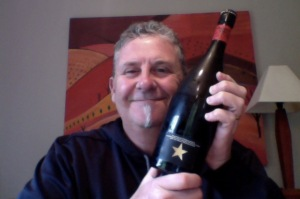 Posh blok drinks a posh looking beer