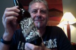 50 year old man has a 50 year celebration beer