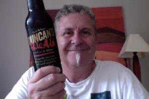 Pale man with Pale Ale