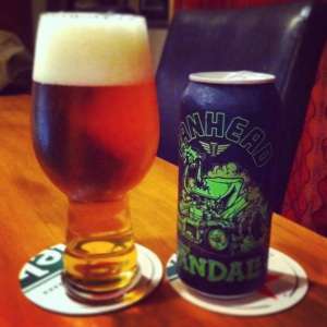 Green Hopped Vandal