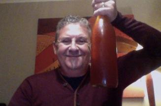 more frivolous than frolic a man hold a beer weird